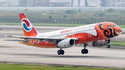 B-6761 - Airbus A320-232 - Chongqing Airlines