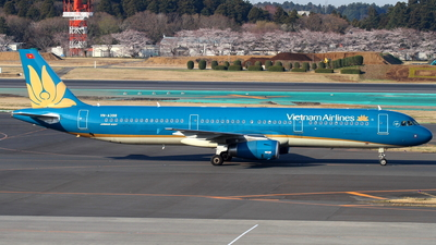VN-A398 - Airbus A321-231 - Vietnam Airlines