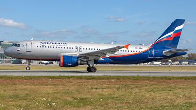 VQ-BEH - Airbus A320-214 - Aeroflot