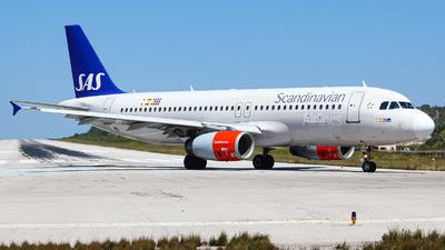 SE-RJE - Airbus A320-232 - Scandinavian Airlines (SAS)