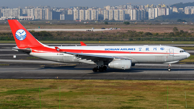 A picture of B308L - Airbus A330243F - Sichuan Airlines - © Mr.Huang