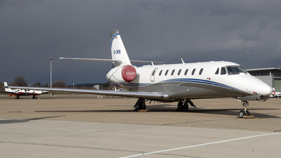 A picture of DCWIN - Cessna 680 Citation Sovereign - Silver Cloud Air - © Dominik Burger