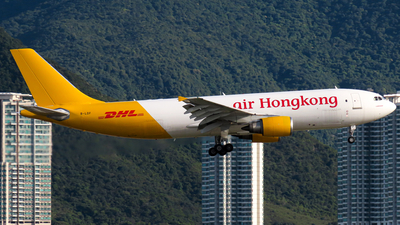 A picture of BLDF - Airbus A300F4605R - DHL - © Jayden Fu