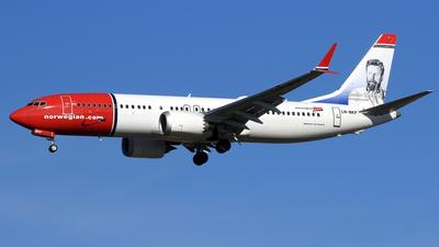 LN-BKF - Boeing 737-8 MAX - Norwegian