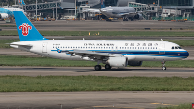 A picture of B1803 - Airbus A320214 - China Southern Airlines - © Leng Hao