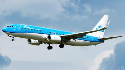 A picture of PHBGC - Boeing 7378K2 - KLM - © Wilko Doodhagen