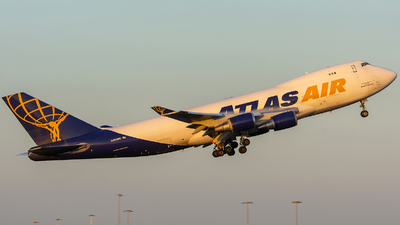N493MC - Boeing 747-47U(F) - Atlas Air