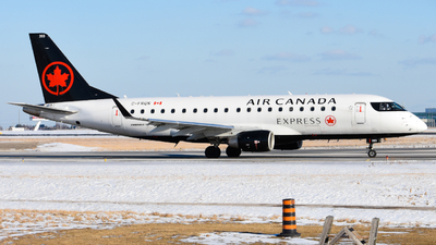 A picture of CFRQN - Embraer E175SU - Air Canada - © Aaron Miles
