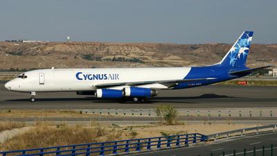 EC-EMX - Douglas DC-8-62(AF) - Cygnus Air