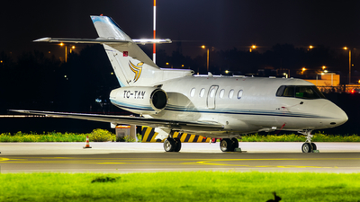 A picture of TCTAV - Hawker 800XP - [258736] - © Dutch