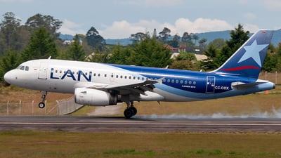 A picture of CCCOX - Airbus A319132 - LATAM Airlines - © Andres Ramirez