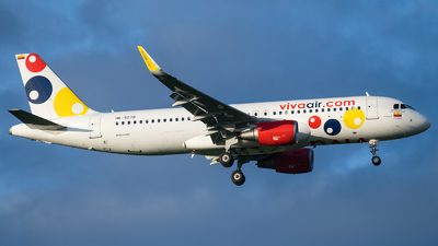 A picture of HK5278 - Airbus A320214 - Viva Air - © Juan David Mancipe