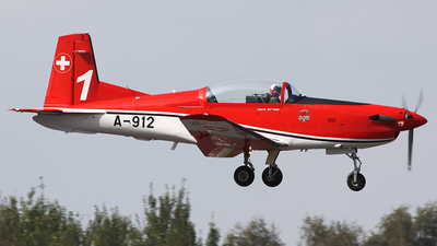 A-912 - Pilatus PC-7 - Switzerland - Air Force