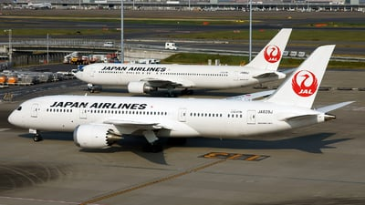 JA828J - Boeing 787-8 Dreamliner - Japan Airlines (JAL)