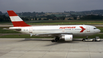 OE-LAD - Airbus A310-325 - Austrian Airlines