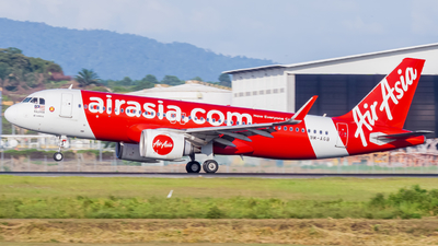 A picture of 9MAGB - Airbus A320251N - AirAsia - © Nigel Shim