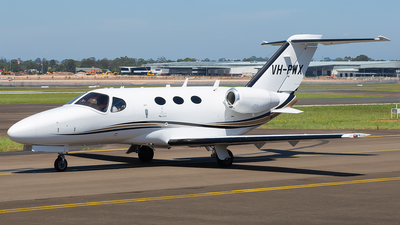 A picture of VHPWX - Cessna 510 Citation Mustang - [5100269] - © Mark B Imagery