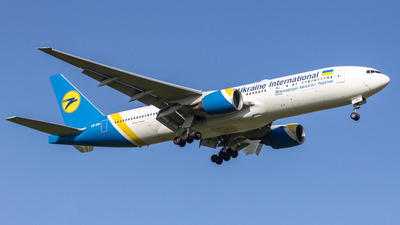 UR-GOA - Boeing 777-2Q8(ER) - Ukraine International Airlines