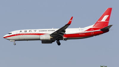 A picture of B2688 - Boeing 73786D - Shanghai Airlines - © StephenLian-NGB