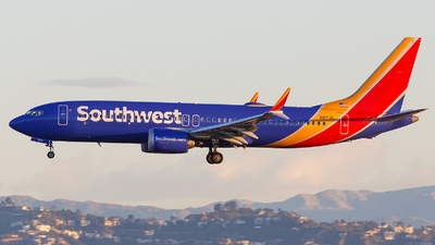 A picture of N8712L - Boeing 737 MAX 8 - Southwest Airlines - © James Rowson