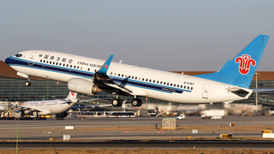 B-5747 - Boeing 737-81B - China Southern Airlines