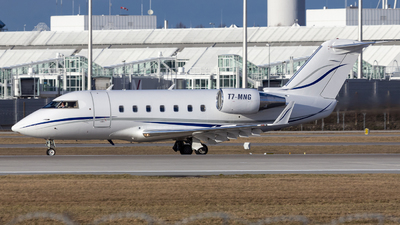 T7-MNG - Bombardier CL-600-2B16 Challenger 601-3A - MNG Airlines