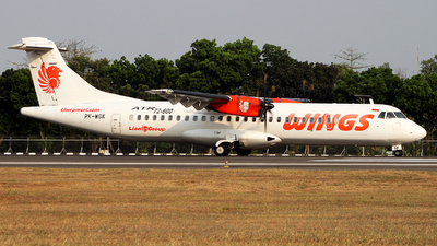 PK-WGK - ATR 72-212A(600) - Wings Air