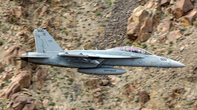 166855 - Boeing EA-18G Growler  - United States - US Navy (USN)