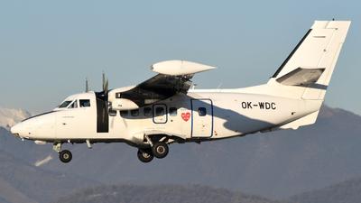 OK-WDC - Let L-410UVP-E Turbolet - Silver Air