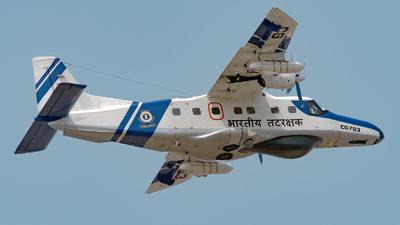 CG763 - Dornier Do-228-101 - India - Coast Guard