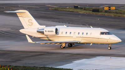 M-AAAA - Bombardier CL-600-2B16 Challenger 605 - Private