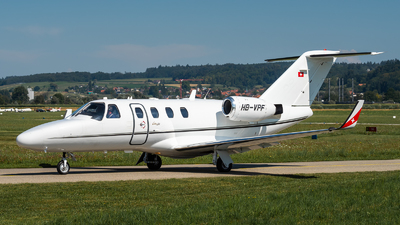 HB-VPF - Cessna 525 Citationjet CJ1 - Private