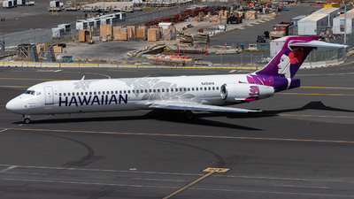 N494HA - Boeing 717-2BL - Hawaiian Airlines