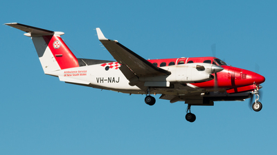 VH-NAJ - Beechcraft B300C King Air 350C - Ambulance Service of NSW