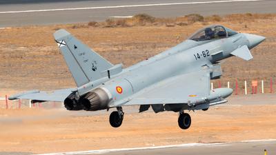 C.16-62 - Eurofighter Typhoon EF2000 - Spain - Air Force