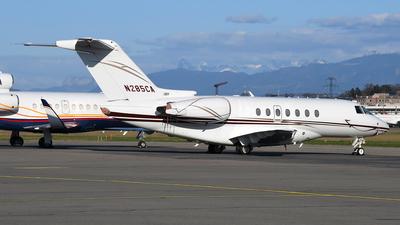 N285CA - Hawker Beechcraft 4000 - Private