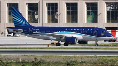 4K-8888 - Airbus A319-115(CJ) - Azerbaijan - Government