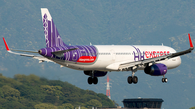B-LEE - Airbus A321-231 - Hong Kong Express