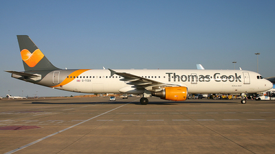 G-TCDX - Airbus A321-211 - Thomas Cook Airlines