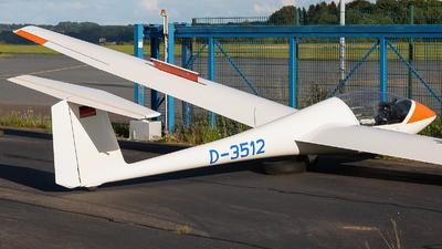 D-3512 - Grob G102 Club Astir IIIB - Luftsportverein Kiel