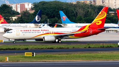 A picture of B1542 - Boeing 73784P - Hainan Airlines - © HoHyun Ryu