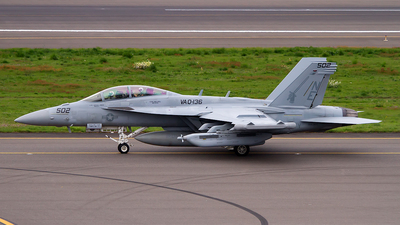 168384 - Boeing EA-18G Growler  - United States - US Navy (USN)