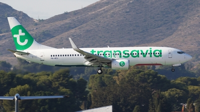 PH-HZJ - Boeing 737-8K2 - Transavia Airlines