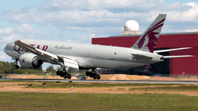 A picture of A7BFS - Boeing 777F - Qatar Airways - © Andre M.