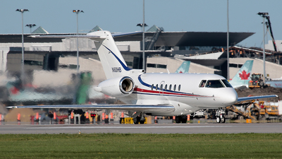 N68HB - Raytheon Hawker 4000 Horizon - Private
