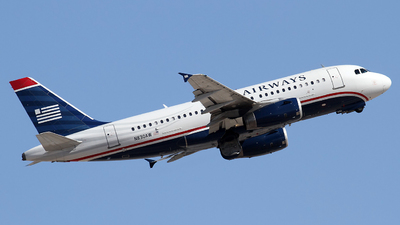 N830AW - Airbus A319-132 - US Airways