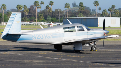 N201GY - Mooney M20J - Private