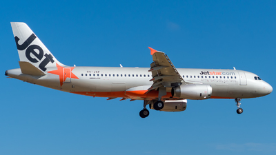 9V-JSF - Airbus A320-232 - Jetstar Asia Airways