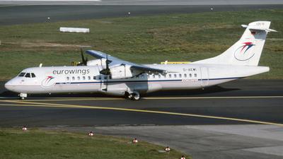 D-AEWI - ATR 72-212 - Eurowings