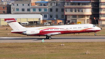 N168CF - McDonnell Douglas MD-87 - Private